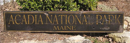 Custom National Park Wood Sign - Rustic Hand Made Vintage Wooden Sign WW... - $49.00