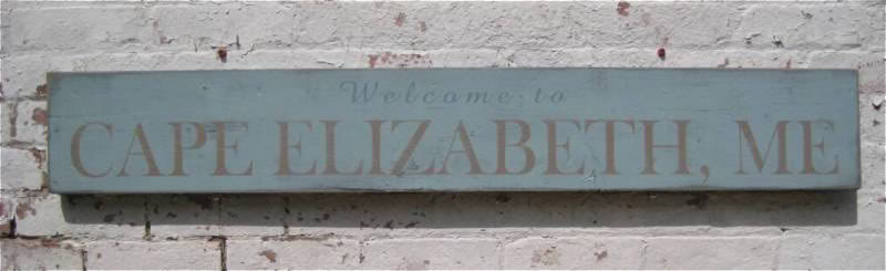 Primary image for Welcome to City, State Wood Sign - Rustic Hand Made Vintage Wooden Sign WWS00013