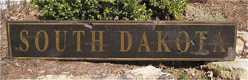 Primary image for Personalized State Wood Sign - Rustic Hand Made Vintage Wooden Sign WWS000222