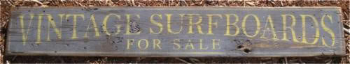Primary image for Vintage Surfboards For Sale Wood Sign - Rustic Hand Made Vintage Wooden Sign WWS