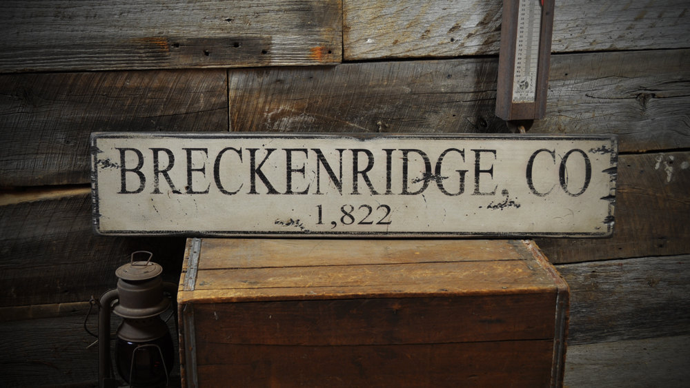 Primary image for Custom City / State Mileage Sign - Rustic Hand Made Vintage Wooden ENS1000234
