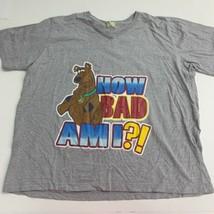 Scooby Doo Tee T-Shirt Top Women's Plus 4X Gray Now Bad Ami Short Sleeve... - $17.99