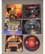 DOOM 1 2 3 First Person Shooter FPS PC Video Computer Game + New Level A... - $29.95