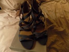 Franco Sarto Women's Hachi Sandal, Navy, 9 1/2M - $29.99