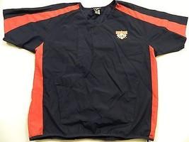 M120 Rare Cooperstown Dreams Park Blue Windbreaker Jacket Shirt Jersey Men's M - $24.70