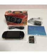 Sony PSP-3000 MHB Monster Hunter 3rd Hunters Limited Model Confirmed Ope... - $330.21