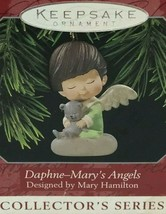 HALLMARK Keepsake Ornament Daphne Mary's Angels #11 Original box 1998 - $16.82