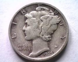 1939-S Mercury Dime Very Fine / Extra Fine VF/XF Very Fine /EXTREMELY Fine VF/EF - $12.00