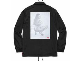 Supreme Digi Coaches Jacket Black Large SS17 Box Logo SOLD OUT - $310.55