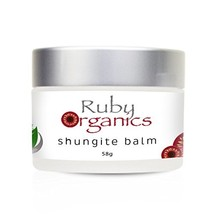 Ruby Organics Shungite Balm Moisturizer Made with 100 Percent Pure and Natural I