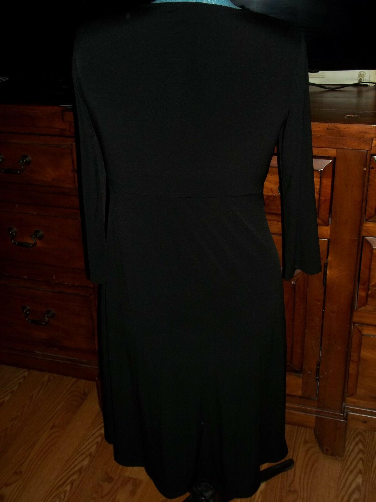 BCBG Black Long  Dress Size Large