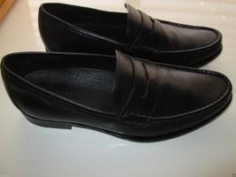 """Cole Haan 8171KG14 Penny Pebbled Leather Loafer Men Shoe Black 9M (10 5/16"""" feet - $81.69"""