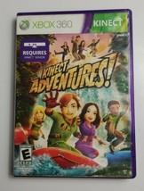 Kinect Adventures (Microsoft Xbox 360, 2010) Case and Disc ONLY - $4.99
