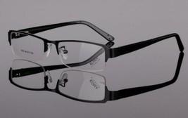 Amillet Titanium Alloy Eyeglass Frames Spectacles Spring Hinges Half Rim... - $12.99