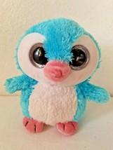 Wild Republic Blue Baby Penguin Glitter Eyes Plush Stuffed Animal Small - $16.79