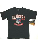NHL 47 Brand Boys New York Rangers T-Shirt Hockey Size 10-12 NWT - $16.48