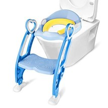 Oak Leaf Toddler Potty Training Toilet Seat with Step Stool Potty with L... - $34.78