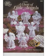 A Choir of Little Angels 7 Designs Crochet Leaflet Booklet 1223 Jane Espinoza - $4.00