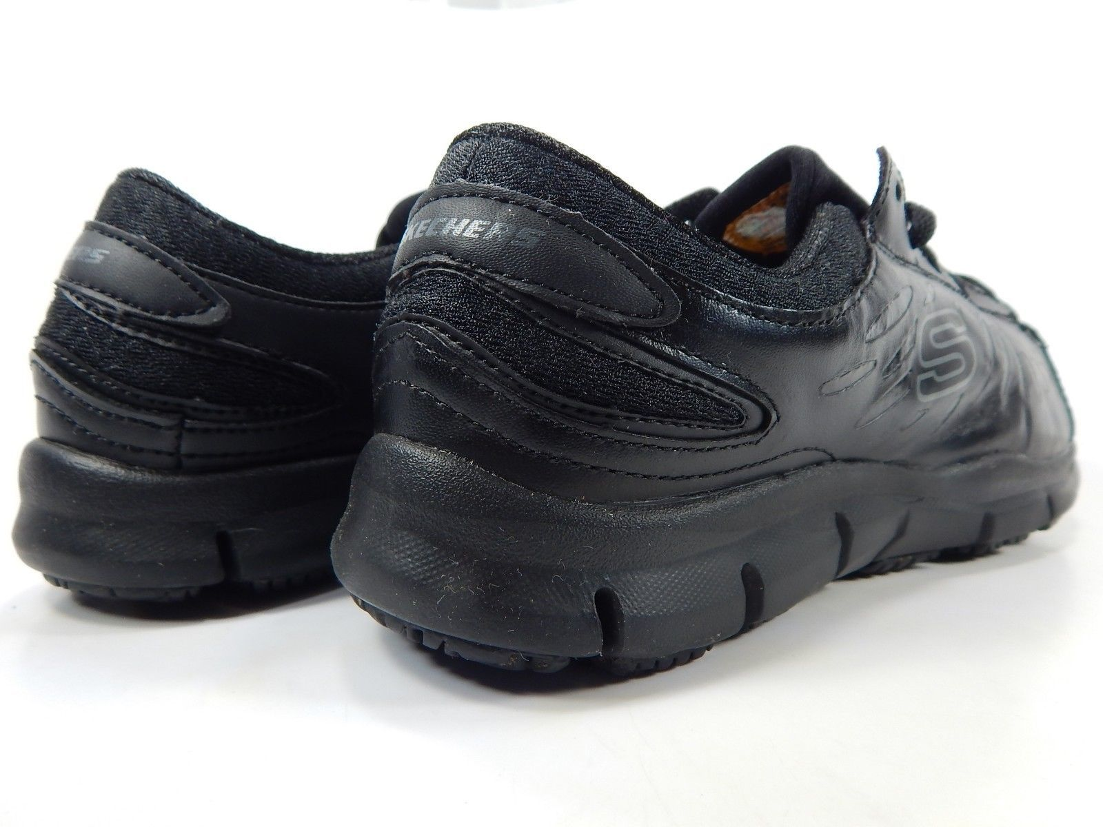 Skechers Relaxed Fit - Eldred SR 7.5 EW 2E EXTRA WIDE EU 37.5 Women's Work Shoes