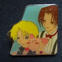 Tokyo mew mew Pin Badge RYO & KEIICHIRO Masha + Ichigo vintage KODANSHA 3cm - $26.89