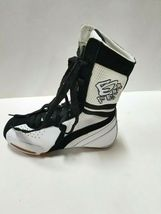 Hi-Top BF2 Adult Size 2M White/Black Dance Sneakers image 3