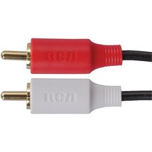 RCA AH19R Stereo Audio Cable (6ft) - $4.99