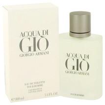 ACQUA DI GIO by Giorgio Armani Eau De Toilette Spray 3.3 oz For Men - $79.95