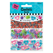 Mad Hatter Tea Wonderland Birthday Party Table Decoration Sprinkle Confetti - $5.93