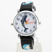 New LED Colorful Flashing Silicone Shark Dial Children's Watch Clock Tim... - $28.86 CAD