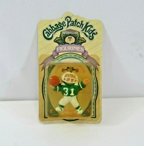 Cabbage Patch Kids Football Player Figurines VTG Sealed Panosh Place 1985 NOS - $22.09