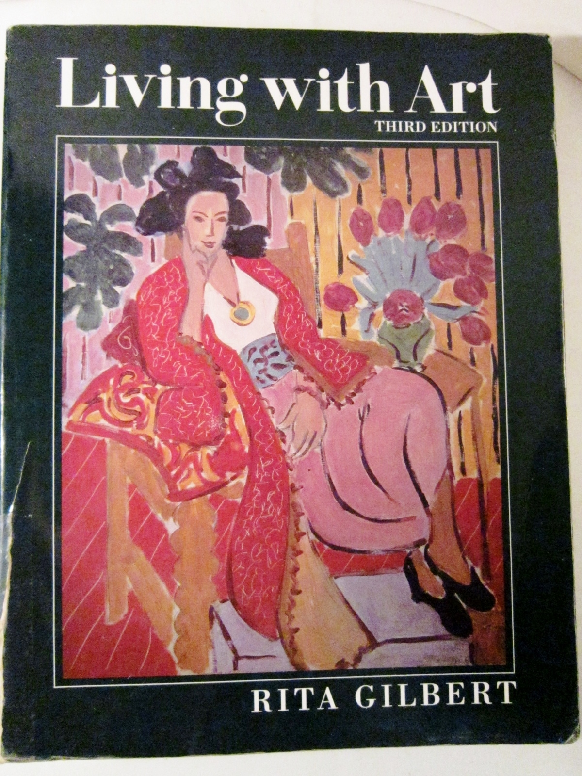 Primary image for Living with Art 1992 by Rita Gilbert, basic art text, Art History