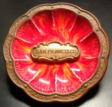 Treasure Craft Pottery San Francisco Small Roun... - $9.99