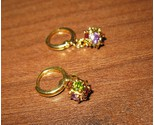 D462 multi  stone disco ball earrings thumb155 crop