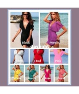 Summer Beach Wear Many Colors Mini Swimsuit Cover-up Dresses - $38.95