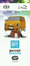 2013 Scion iQ Shin Tanaka DIY PAPER SHAPERS brochure catalog US Toyota - $8.00