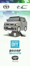 2013 Scion tC Shin Tanaka DIY PAPER SHAPERS brochure catalog US Toyota - $8.00