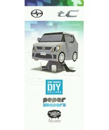2013 Scion tC Shin Tanaka DIY PAPER SHAPERS model kit brochure US Toyota - $8.00