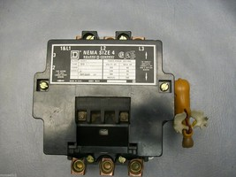 8502SF02 Square D Size 4 Contactor with Coil # 31091-400-38 - $890.99