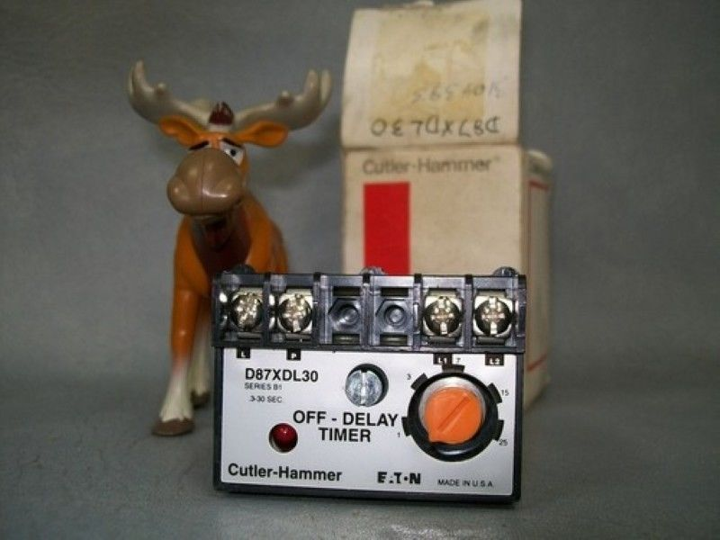 Primary image for D87XDL30 Cutler Hammer Off Delay Timer Series B1