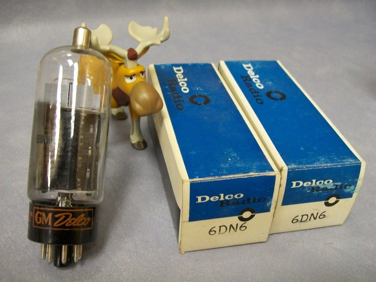 Primary image for GM Delco 6DN6 Vacuum Tubes   Lot of 2