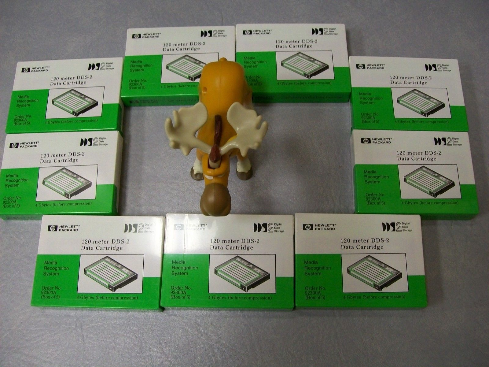 Primary image for Hewlett Packard DDS Data Cartridge 120 Meter Lot of 9