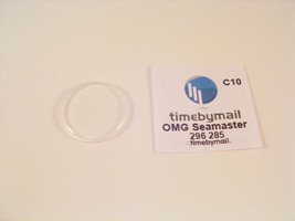 For OMEGA SEAMASTER Watch Crystal Plexi Glass Replacement Spare Part 29.6mm C10 - $19.46