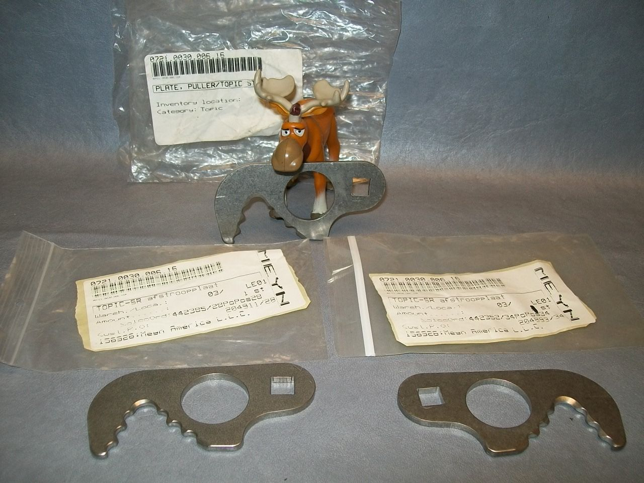 Primary image for Meyn 0721.0030.006.16 Puller Stripper Plate Lot of 3