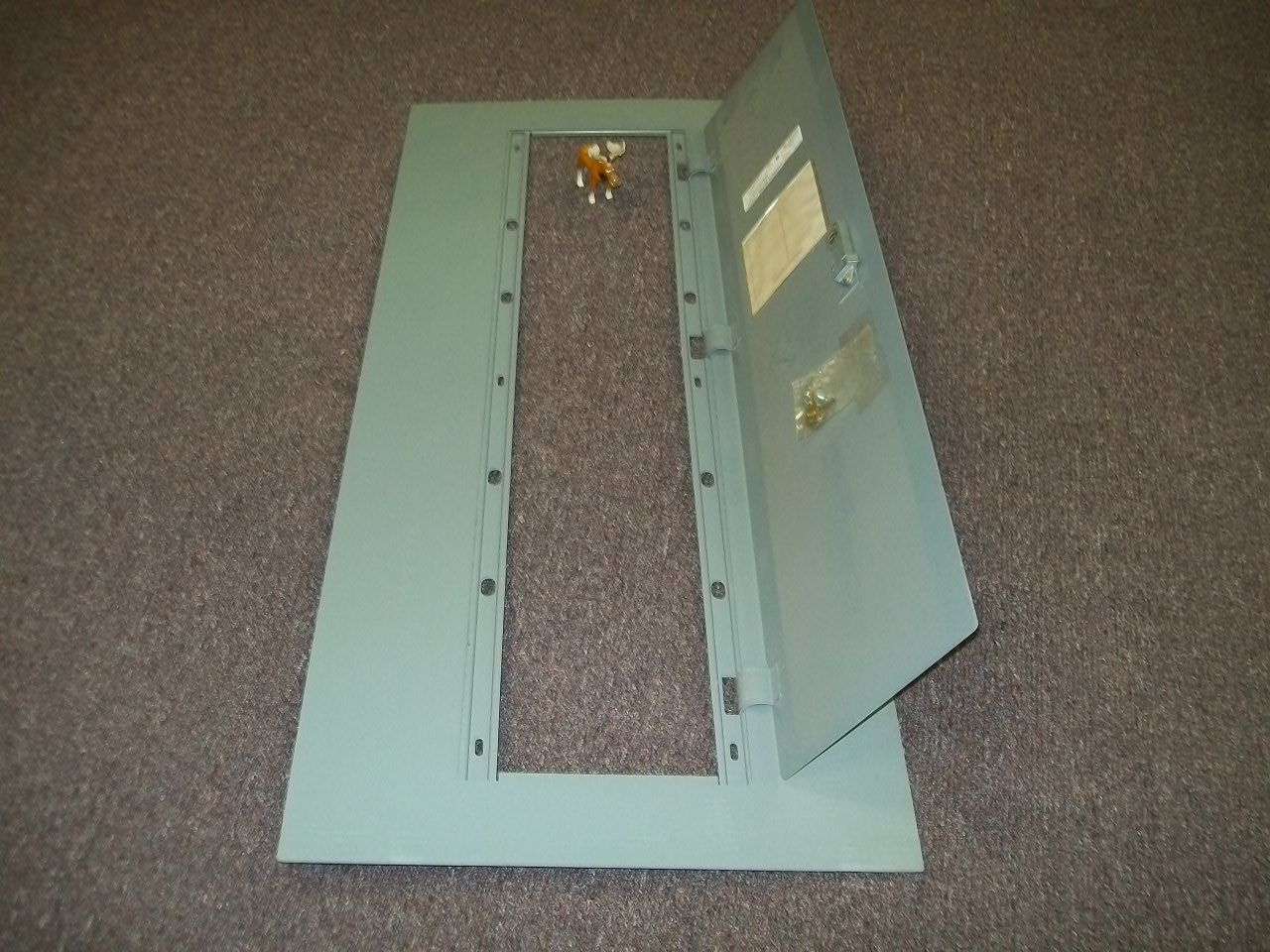 "Primary image for Square D MHC47F Panel Board Cover / Trim for NQOD Load Center 48 1/2"" X 21 1/2"""