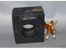 Westinghouse Current Transformer 600:5 3486C98H06 - $1,010.16