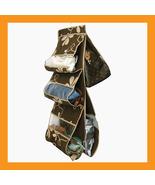 5 shelf handbag storage organizer hanging close... - $16.00