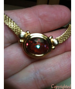Estate 4.50ctw Mystic Topaz Diamond Pendant Nec... - $99.00