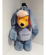 "Disney  Winnie the Pooh Build-A-Bear 18"" W/Eeyore - $19.98"