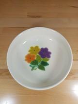 """Vintage 70's Franciscan Earthenware Floral Pattern 9 1/2"""" Vegetable Serving Bowl - $17.99"""