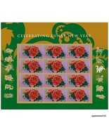 Exquisite USA 2016 CELEBRATING CHINESE LUNAR NEW YEAR OF THE Monkey Stam... - £8.72 GBP